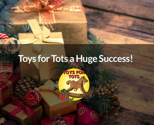 Toys for Tots a Huge Success!