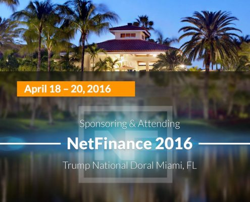 3 Reasons to Join Veriday at NetFinance 2016