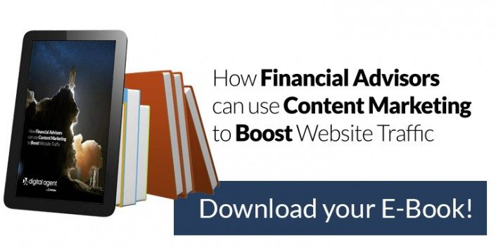 How Financial Advisors can use Content Marketing to Boost Website Traffic
