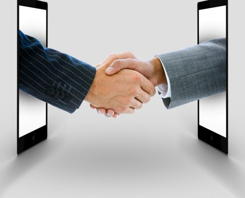 Most important features of a digital handshake